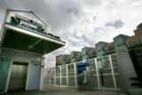 The Louisiana/ Pearl Light Rail Station, sits in the shadow Friday Feb. 16 ,2007 of  as...