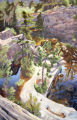 Joellyn Duesberry's 1996 oil on linen, Above the Granite Quarry.