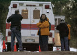 Douglas County Search and Rescue members end their day after recovering a body they believe is...