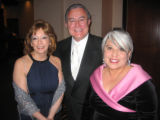 From left, Elsa and Rudolofo Jose Cardenas, Humanitarian Award recipient, along with fellow...