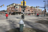 This is the intersection of 13th St., and Canyon Blvd., Boulder, Colo., Thursday February 22,...