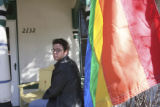 Blake Weber, (cq) is Executive Director of Boulder Pride, 2132 14th St., Boulder, Colo., Thursday...