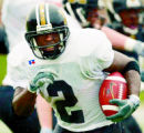 DAVID EULITT/The Kansas City Star--04102004--BLACK AND GOLD GAME--University of Missouri Tigers...