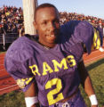 Photo by Dan Gill (11-21-98)   Damien Nash, Riverview, smiles a few minutes before winning over...