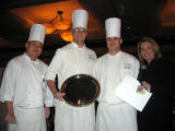 The wiining dessert was from Café Bistro at the Hyatt Regency Tech Center, which won for the third...