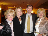 Mental Health Association supporters, from left, Arlene Hirschfeld, Cindy and Brady Kellogg and...