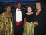 DPL supporters and Booklovers' Ball patrons, from left, Gloria and Landri Taylor, Ann Kirchhoff...