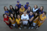 2006 Rocky Mountain News All-Colorado Girls softball team Wednesday afternoon November 8, 2006 at...