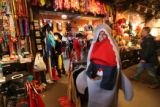 (DLM0357) -  at the Ritz, a cutome and vintage clothing store, in Boulder, Colo. Monday, Oct. 30,...