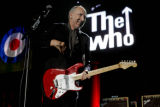 "Pete Townshend, of the band The Who performs the song ""CAN'T EXPLAIN"" at the Pepsi..."