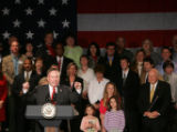 Doug Lamborn speaks during an event in which Vice President Dick Cheney spoke for 5th...