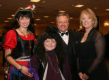 Make-A-Wish siblings Cass Lillard and Wish-kid Robert Jackson, 10,  with their parents, John and...