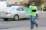 Mason Tvert (cq), Campaign Director SAFER, marijuana Statutory Amendment 44, waived to early...