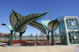 FOR SPOTLIGHT. Art at the light rail stations along I-225 and the southern corridor of I-25 on...