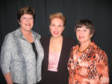 Memories Lost & Found co-chairwoman Judy Bowman, left, Jeanne Phillips - or Dear Abby, center...