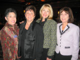 From left, AWARE founder and former President Helen Ginsburg, current President Terre Richards,...