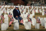 MJM330  South Denver VFW 2461 member and Korean War Veteran, Ralph Vigil (cq) sits for a moment on...