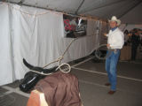 A lassoing demonstration from Ty Williams at Urban Cowboy. (DAHLIA JEAN WEINSTEIN/ROCKY MOUNTAIN...