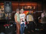 The top three best western-dressed men at Urban Cowboy were selected by a representative from Park...