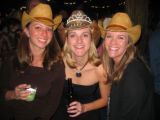 Bride-to-be Kaitlyn Riley, center, celebrated her bachelorette party at the Urban Cowboy fete with...