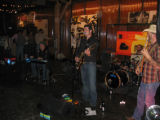 The Railbenders rock the house at Urban Cowboy.  (DAHLIA JEAN WEINSTEIN/ROCKY MOUNTAIN NEWS)...