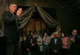 Gov. Elect Bill Ritter speaks to a crowd of supporters on Tuesday evening Nov. 14, 2006 at the...