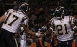 [RMN1260] - In the third quarter against the Denver Broncos,  San Diego Chargers quarterback...