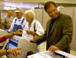 (FORT COLLINS COLORADO - August 10, 2004 ) Election day in Fort Collins Tuesday morning August 10,...