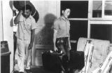 Men arriving at barracks at Grenada-Amache Japanese Internment Camp.    (Photos from...