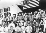Amache Boy Scout Troop #719 at Grenada-Amache Japanese Internment Camp.    (Photos from...
