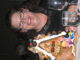Central City Opera House Association Gingerbread Bash co-chairwoman Vicki Henry Harding was...