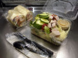 (DENVER, Colo., Aug. 24, 2004)   Lunch and dinner selections on a Ted flight leaving DIA for...