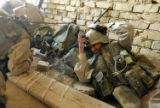 NYT1 -  (NYT1) NAJAF, Iraq -- Aug. 25, 2004 -- IRAQ-NAJAF-1 -- Marines with the First Battalion,...