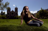 (Denver, Colo., August 25, 2004) Metro State student Danielle Robinson, 22, of Parker, Colo., is...