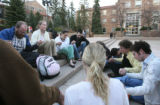 On the evening of Wednesday, April 18th, students at The University of Colorado at Boulder gather...