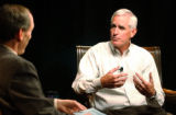 (DENVER Colo., Aug. 26, 2004) Republican candidate for U.S Senate Pete Coors, has a interview with...