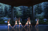 (Vail, Colo., August 12, 2004) Members of Victor Ullate Ballet from Madrid, Spain, perform at the...