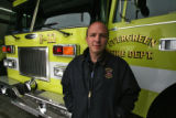 DLM3761  EverGreen Fire Chief Joel Janov at Evergreen Fire Rescue Station 2 in Bergen Park, Colo....