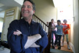 Matt Hogan (cq) at the Denver Children Advocacy Center , which he helped relocate, on Friday April...