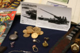 Some of the unclaimed property on display at the State Capitol when Colorado State Treasurer Cary...