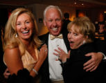Pamela O'Neal with Ralph (Trice Jewelers, donating to the live auction) and Anne Klomp. (STEVE...