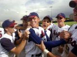 Denver, Colo., photo taken May 14, 2004- Closer and right handed pitcher for Dakota ridge, Chris...