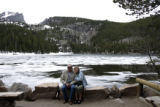 Marvin and Joanne Carlson (cq), from Duluth, MN, take in the scenery around Bear Lake inside the...