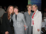 From left, Barbara Green, Maryann Yuthas, Diana Murdy and former Colorado first lady Frances...