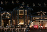 MJM555   The Broomfield home of Karen Vaught (cq) lights up her neighborhood as countless people...