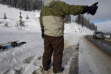 (DLM4438) -   at Berthoud Pass Tuesday, Dec. 12, 2006.(DARIN MCGREGOR/ROCKY MOUNTAIN NEWS)
