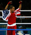 NYT8 - (NYT8) ATHENS, Greece -- August 29, 2004 -- OLY-BOX-2 -- Andre Ward of the United States...