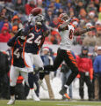 [JPM0483] In the first quarter,  Denver Broncos Champ Bailey (24) intercepts a pass intended for ...