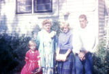 From left to right:  Yetter (mother), La Dean Yetter, Collen Yetter, Jerry Hembry in Lasalle,...
