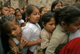 BG3004   Border Street: Six days before Christmas, local children who attend catechism classes...